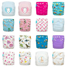 Nappy Charlie Banana Cloth Diaper One Size AIO Hybrid 2 Inserts Sophie la Girafe
