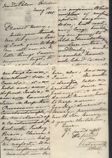 1885 VICTORIA Empress Frederick of GERMANY-AMAZING 13 page letter, Neues Palais