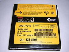 Kodak 16mm Vision 3 200T/7213 Color negative Single perf 100' Daylight spool NIB