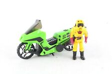 1986 Kenner M.A.S.K. Mask Condor With Brad Turner Complete Very Good V2
