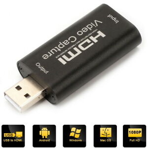 HDMI USB Video Capture Card Bildschirm Record 1080p Games HD Video Capture Card