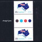 1981 - Australia Day - gutter pair - MNH