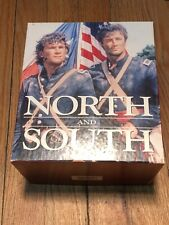 North and South - Book 1 (VHS, 1993, 6-Tape Set) Preowned With Box