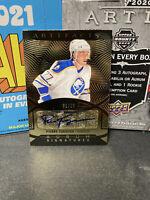 20-21 NHL Artifacts, Aurum Signatures, UD. Pierre Turgeon  #1/25. AS-PT. 👍🏻