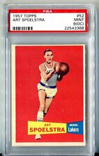1957 Topps #52 *ART SPOELSTRA* MINT PSA 9 (oc)! pop 1 of 4! check out set break