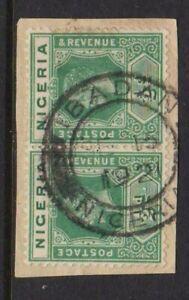 NIGERIA POSTMARK IBADAN 1921