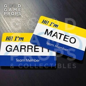 Superstore ID Badge | Cloud 9 Name Tag | Custom Or Character | Screen Accurate