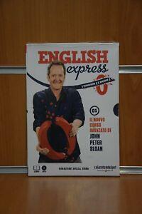"""DVD Corso di Inglese """"English Express"""" Vol.1 J.P. Sloan Corriere della Sera"""