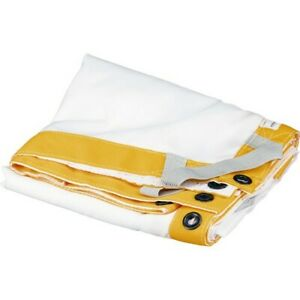 Matthews Butterfly/Overhead Fabric - 12x12' - White Artificial Silk 319000