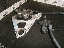 YAMAHA YZF R6 YZFR6 5MT  2001 02raer brake calliper & mount with master cylinder