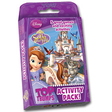 BRAND NEW TOP TRUMPS: SOFIA THE FIRST: ACTIVITY PACK 000967 DISNEY