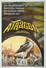 ATRAGON Movie POSTER 27x40 Tadao Takashima Y ko Fujiyama Yu Fujiki Ken Uehara