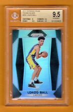 LONZO BALL 2017-18 PRIZM SILVER PRIZMS RC ROOKIE SP BGS 9.5  LOS ANGELES LAKERS