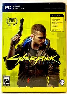 Cyberpunk 2077 PC Version. (Sealed/Physical Version).