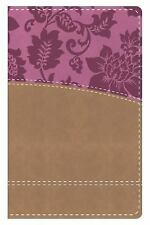 The KJV Study Bible Women's Edition--Indexed (Tan/Pink): By Publishing, Barbour