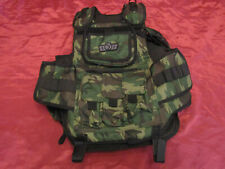 Gen X Global GxG Tactical Paintball Woodsball Camo Vest Pod Harness New ,No Tags
