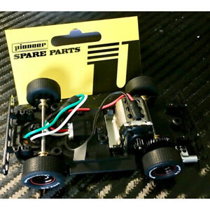 Pioneer CH205051 DPR Ready RTR Complete Standard Legends Chassis 1/32 Slot Car