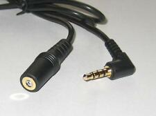 """6 ft 3.5mm 1/8"""" 3 Ring Extension Stereo Cable 4-Pole TRRS 3.5mm Male to Female"""