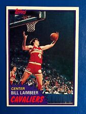 1980-81 Topps Rookie Bill Laimbeer Detroit Pistons # 74