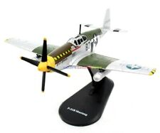 1/72 Diecast Plane USA P-51B Mustang Air Force WWII American Fighter Aircraft