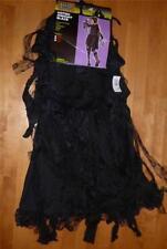NWT Womens Sexy Black GOTHIC MUMMY Bride zombie costume Size 8/10 dress angel