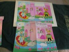 Storyland Original 1968 Cover Art & Two Mint Condition Books-Artist: Bel Benoit