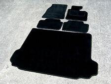 Car Mats in Black SUPER VELOUR to fit BMW X3 E83 (2003-2010 Model) + Boot Mat