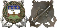 Cie d'Infanterie Coloniale Martinique,dos lisse argenté,D.Ber.Dép. (7015)