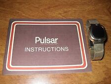 """Ladies Pulsar Led. Y.G.F. Very Fine Condition, """"Running""""  L@@K"""