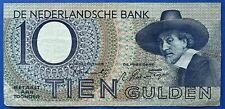 More details for netherlands 1943 ten  (10) gulden banknote.                             ch13-137