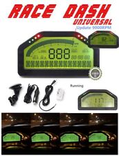 OBD2 Bluetooth Connection Dash Race Display Dashboard LCD Screen Digital Gauge