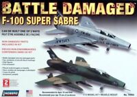 Lindberg 1/72 Scale Battle Damaged F-100 Super Sabre Plastic Model Kit new