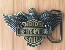 MOTOR HARLEY DAVIDSON OFFICIAL LICENCE PRODUCT MADE IN NEW ZEALAND BUCKLE