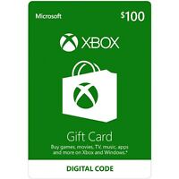 $100 XBOX Live $100 USD Gift Card - XBOX ONE and 360 - USA ONLY