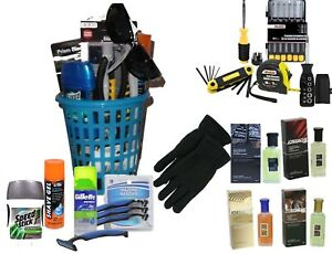 Working Guy Men's Gift Basket Grooming & Tools Fathers Day Easter Birthday