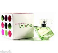 BRITNEY SPEARS Believe 100 ml Women's Eau de Perfume Spray BNIB free sample