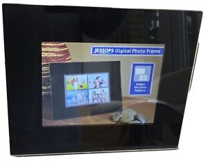 """Jessops 8"""" Digital Poto Frame : With Remote + Instructions : Unboxed : Good Cond"""