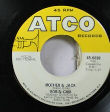 Pop 45 Robin Gibbs - Mother & Jack / Saved By The Bell On Atco