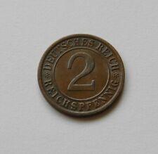 WEIMAR: 2 Reichspfennig 1936 E, J. 314, prägefrisch/unc.,  II.