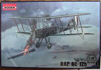 RODEN 1/48 RAF BE12b #412 WWI British Night Interceptor kit *NEW*
