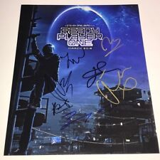 READY PLAYER ONE Cast X7 Signed 11x14 Photo IN PERSON Autograph