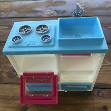Barbie Pop Up RV Sisters Go Camping Stove Sink Replacement Part 2010 Damaged