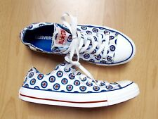 CONVERSE ALL STAR CHUCKS LOW Limited Edition THE WHO Gr. 41 *SUPER Zustand*