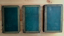 PRINTED 1810 THE ILLIAD AND ODYSSEY OF HOMER BY POPE  RARE BOOKPLATE 3 VOLUMES
