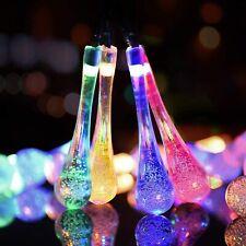 30 LED 21ft Solar Power Fairy String Light Garden Yard Party Bar Lamp Waterproof