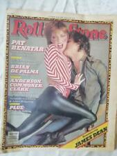 VINTAGE ROLLING STONE MAGAZINE,PAT BENATAR, BRIAN DE PALMA,  OCT 16 1980