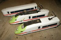 G scale 45mm MODIFIED LGB 3 car Electric Train LCE Repainted and GOOD RUNNER