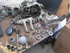 82 Yamaha YZ125 Shock Linkage Brake Pedal Piston Main & Lay Shaft Etc Parts Lot