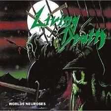 LIVING DEATH - Worlds Neurosis [Re-Release] Digi-CD