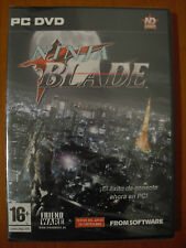 Ninja Blade [PC DVD-ROM] FROM SOFTWARE ND Games Ver.Española ¡NUEVO PRECINTADO!
